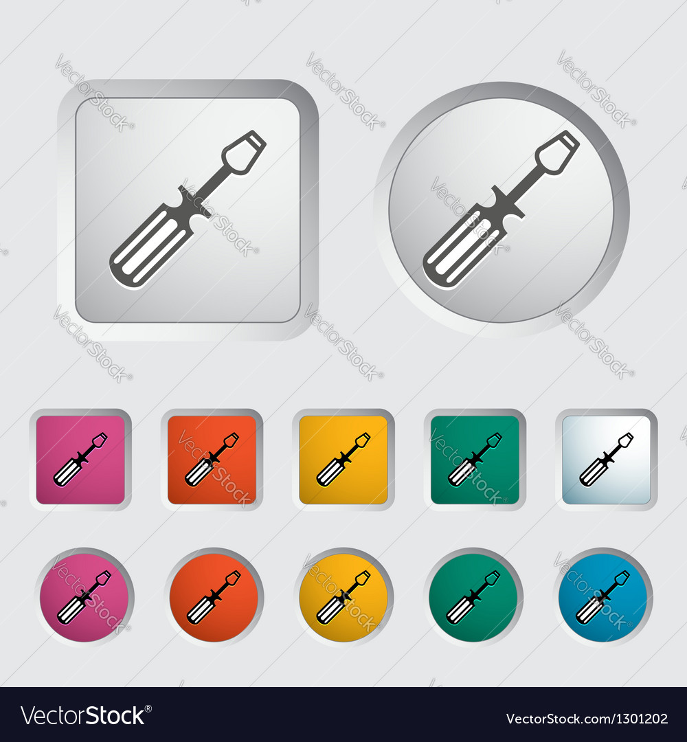 Screwdriver vector | Price: 1 Credit (USD $1)