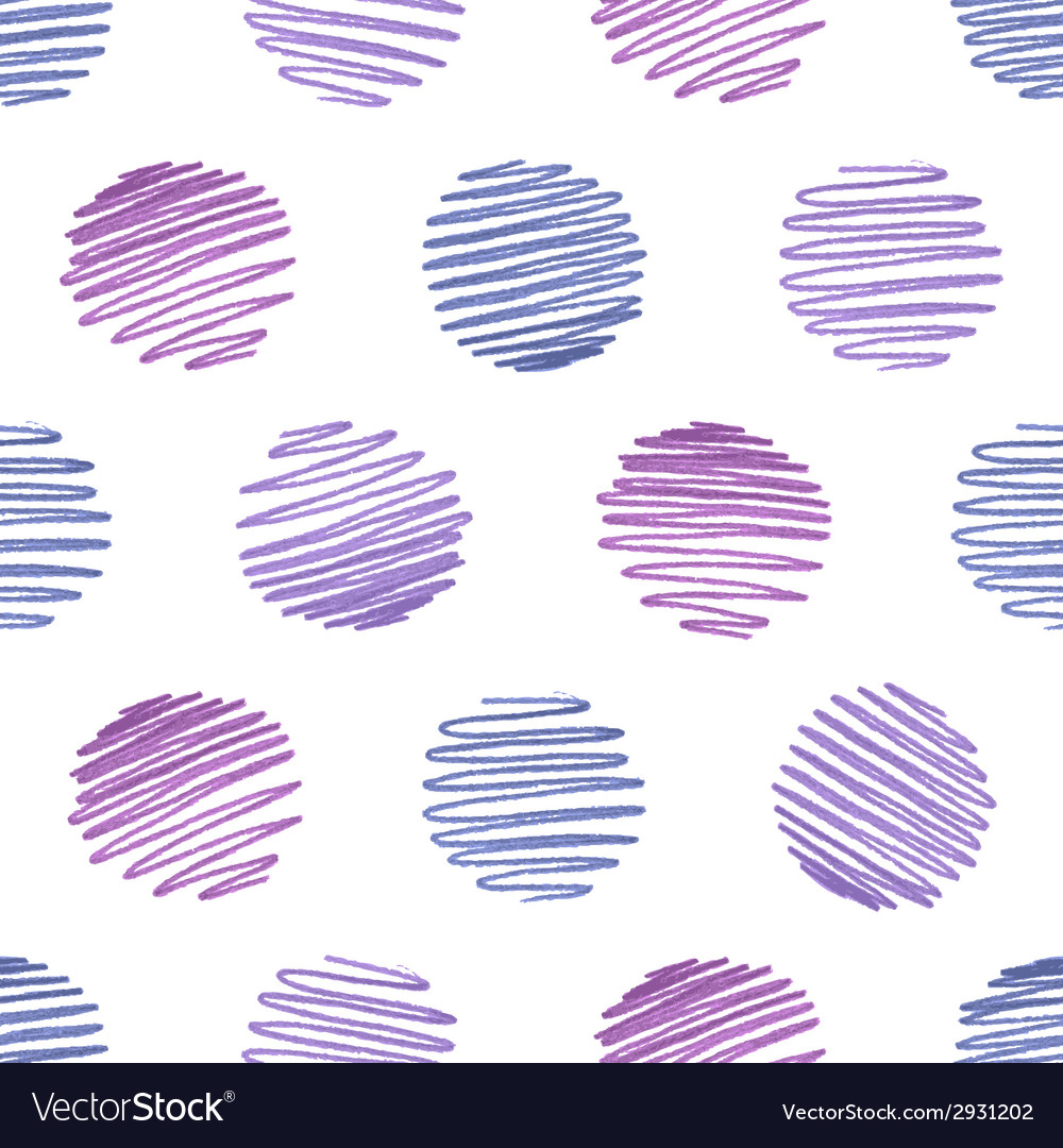 Seamless hand-drawn pattern vector | Price: 1 Credit (USD $1)