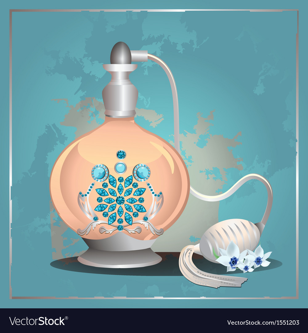 Perfume pump bottle vector | Price: 1 Credit (USD $1)
