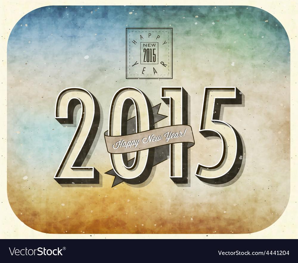 2015 celebration background vector | Price: 1 Credit (USD $1)