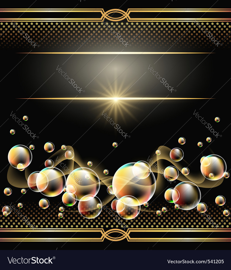 Glowing bubbles vector   Price: 1 Credit (USD $1)