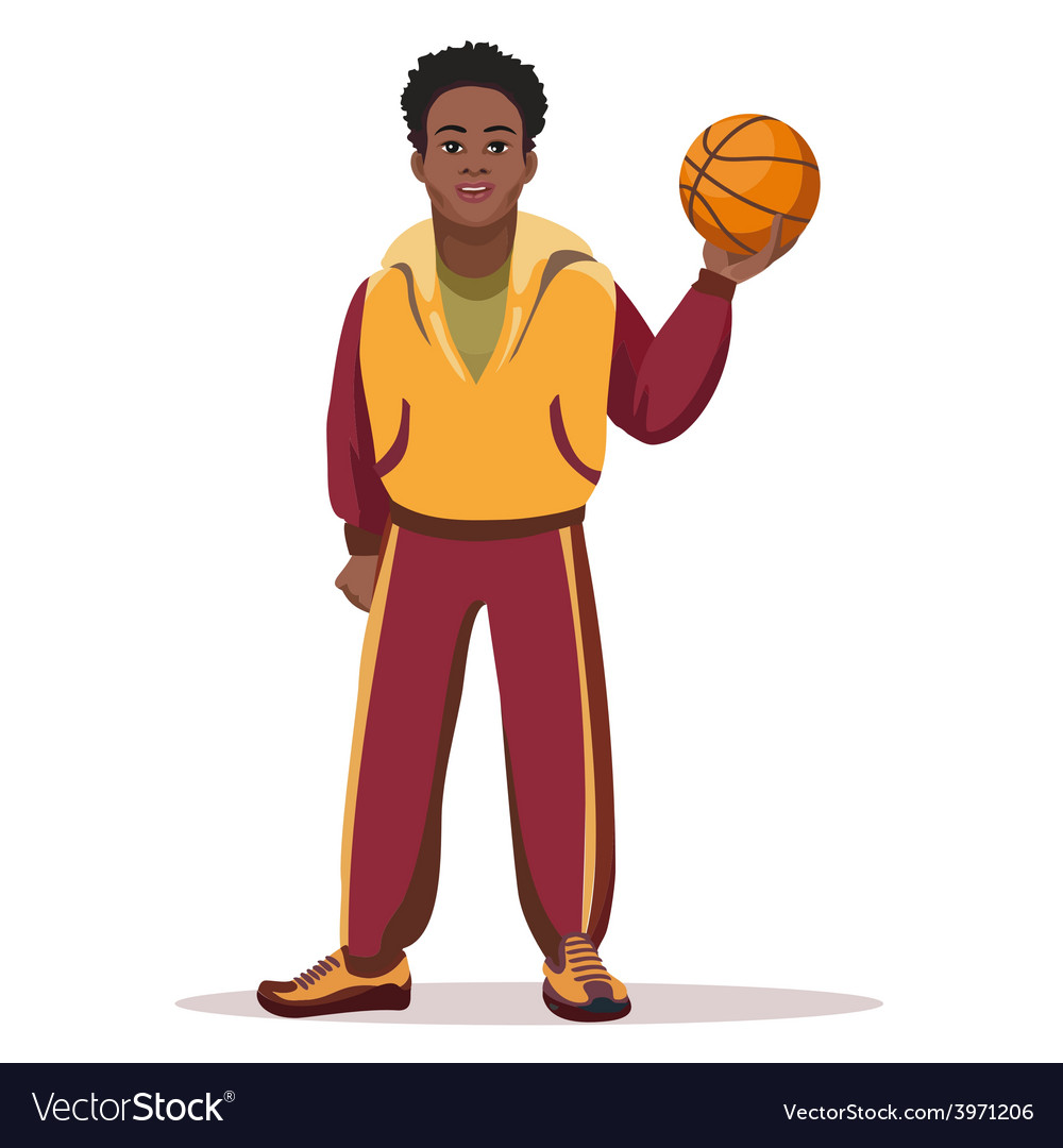 Basketball player vector | Price: 1 Credit (USD $1)