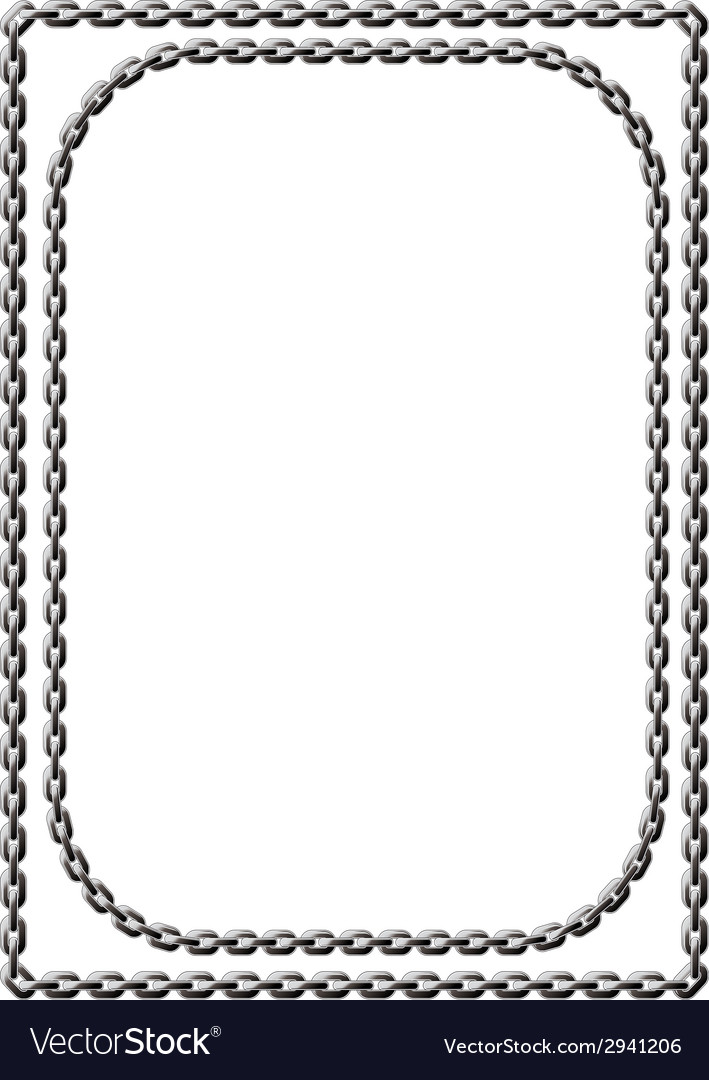 Chain frame vector | Price: 1 Credit (USD $1)