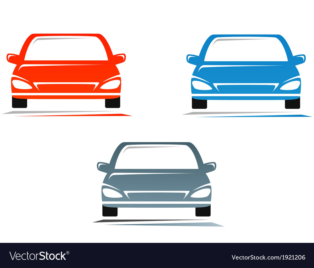 Colorful cars vector | Price: 1 Credit (USD $1)