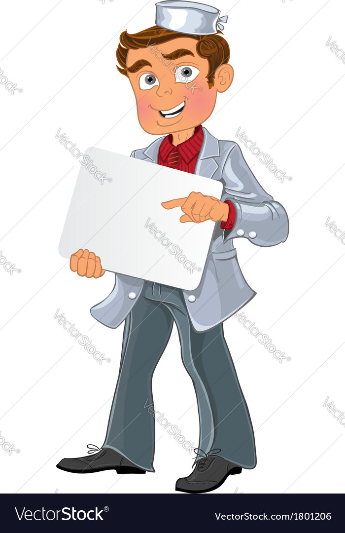 Medical young men with blank area for text or logo vector | Price: 3 Credit (USD $3)