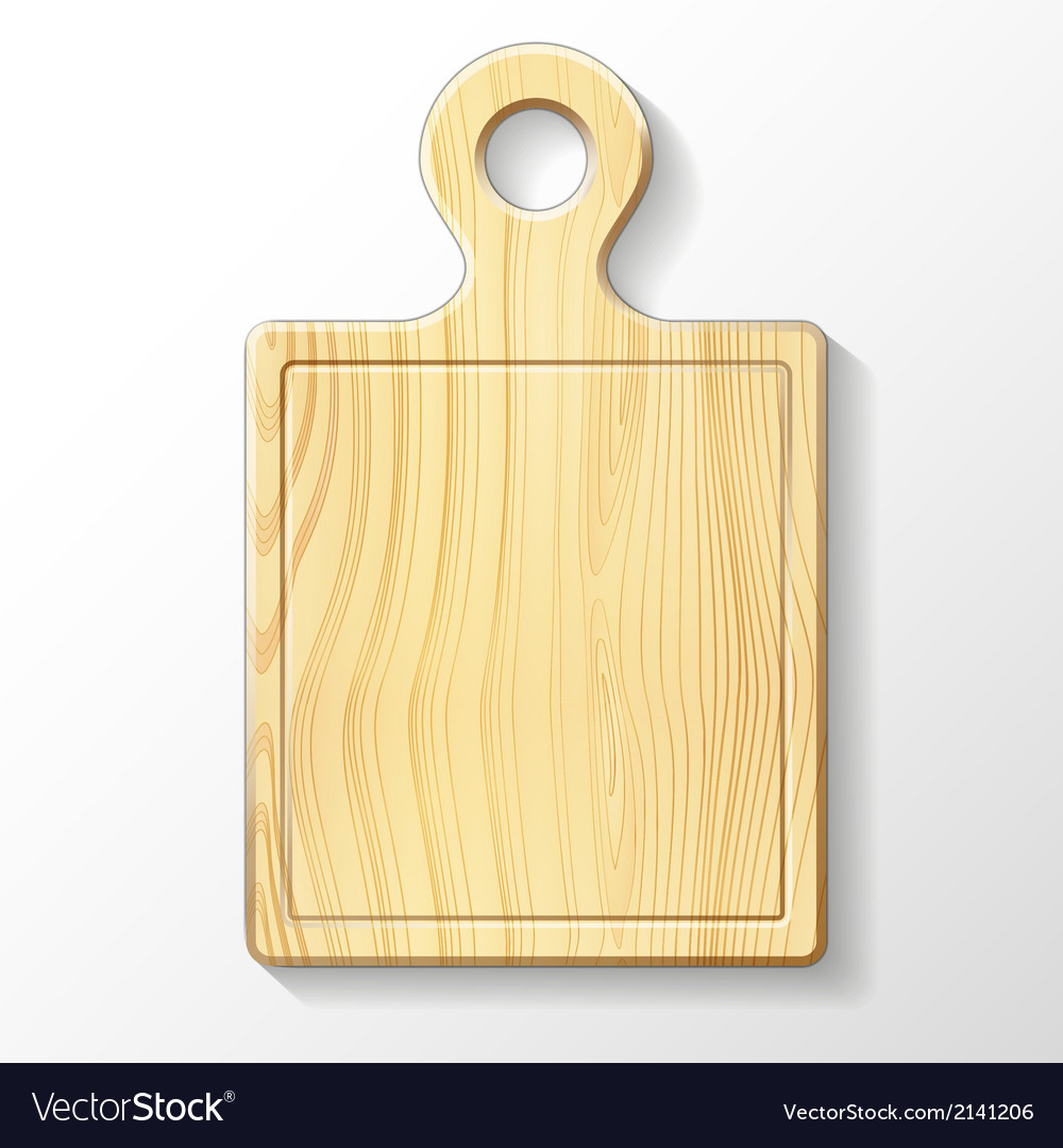 Wooden cutting board vector   Price: 1 Credit (USD $1)