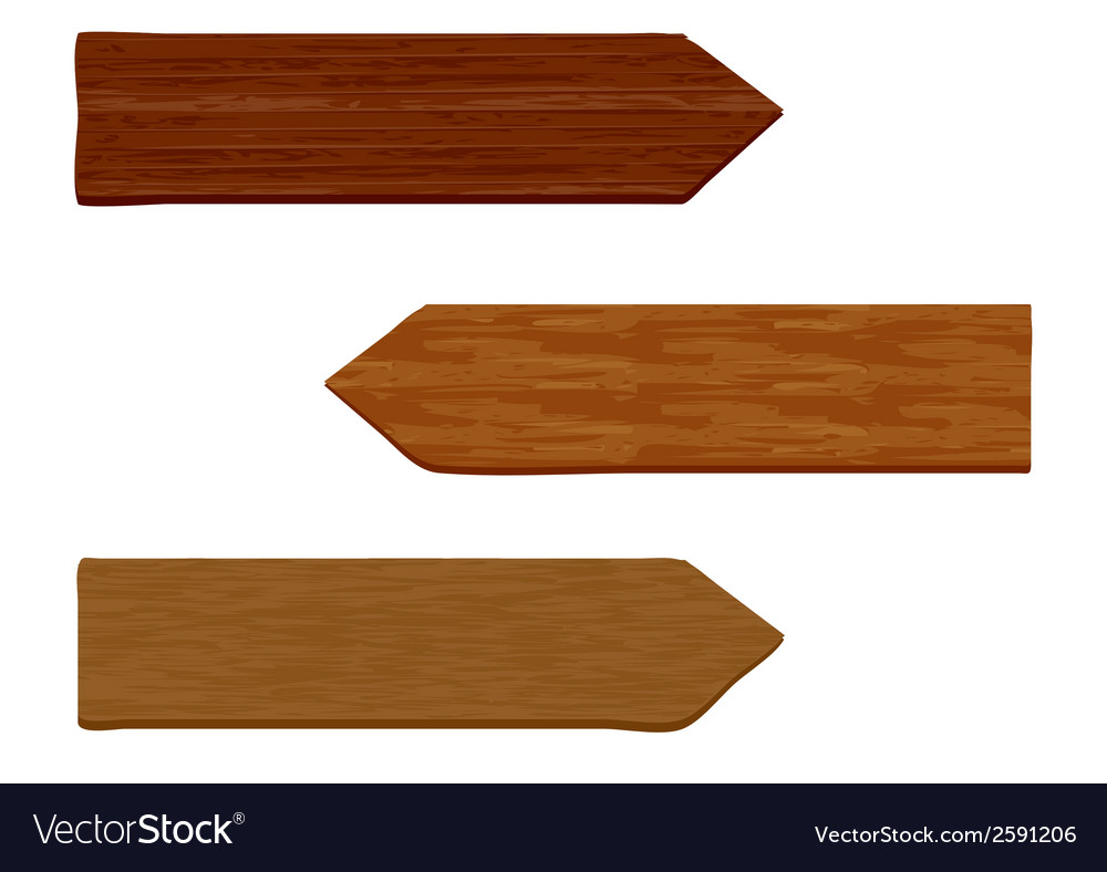Wooden sign 1 vector | Price: 1 Credit (USD $1)