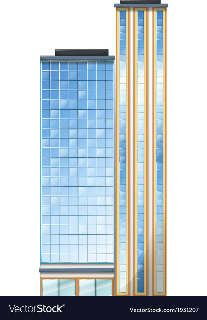 A tall building vector | Price: 1 Credit (USD $1)