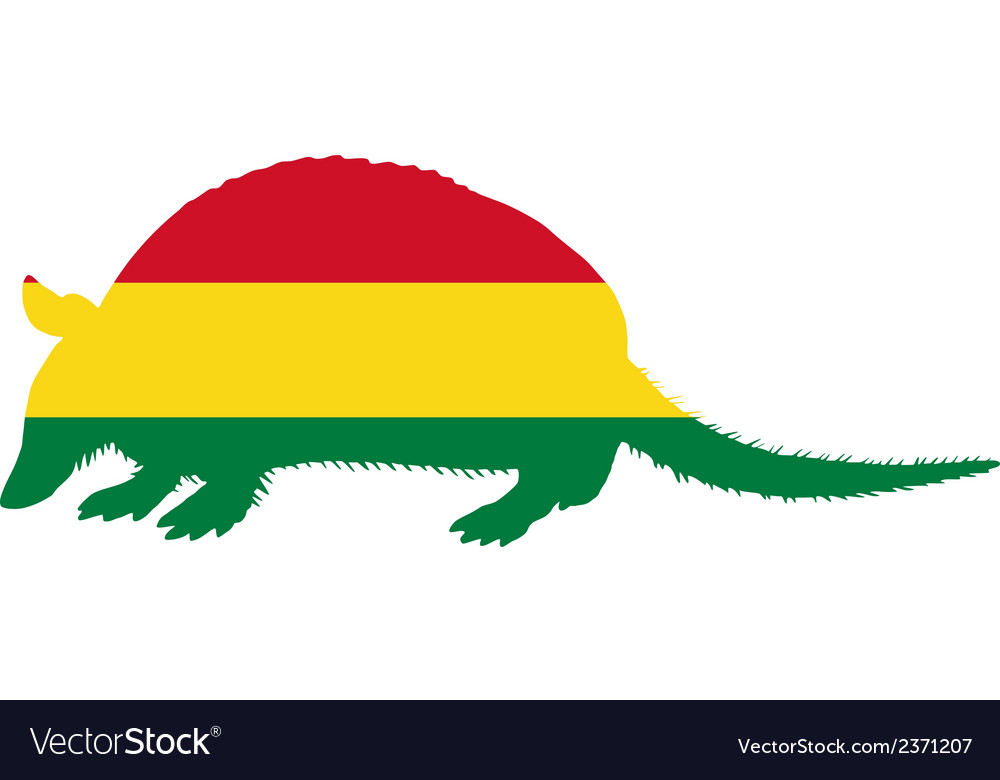 Armadillo bolivia vector | Price: 1 Credit (USD $1)
