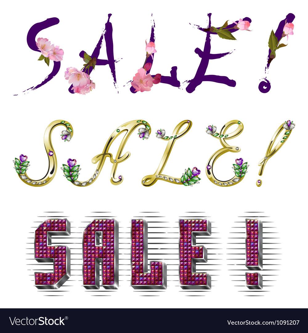 Sale - inscription vector   Price: 1 Credit (USD $1)
