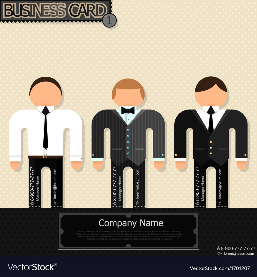 Unusual business cards vector   Price: 1 Credit (USD $1)