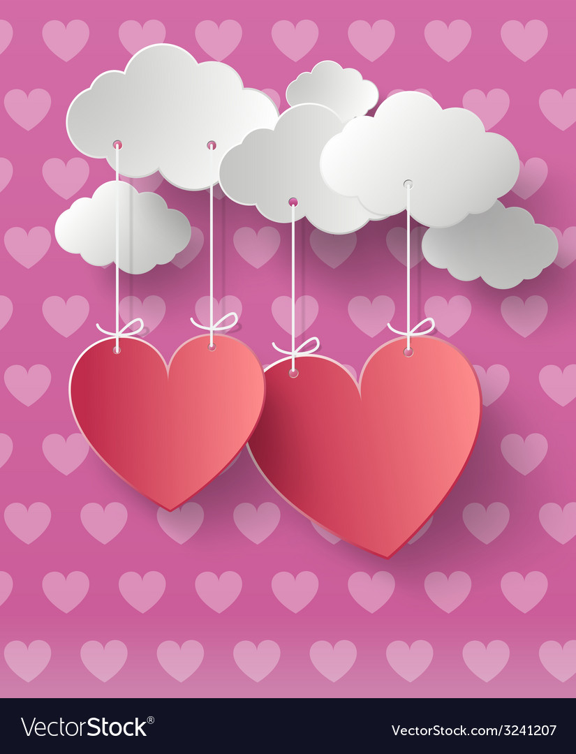 Valentines day abstract background vector   Price: 1 Credit (USD $1)