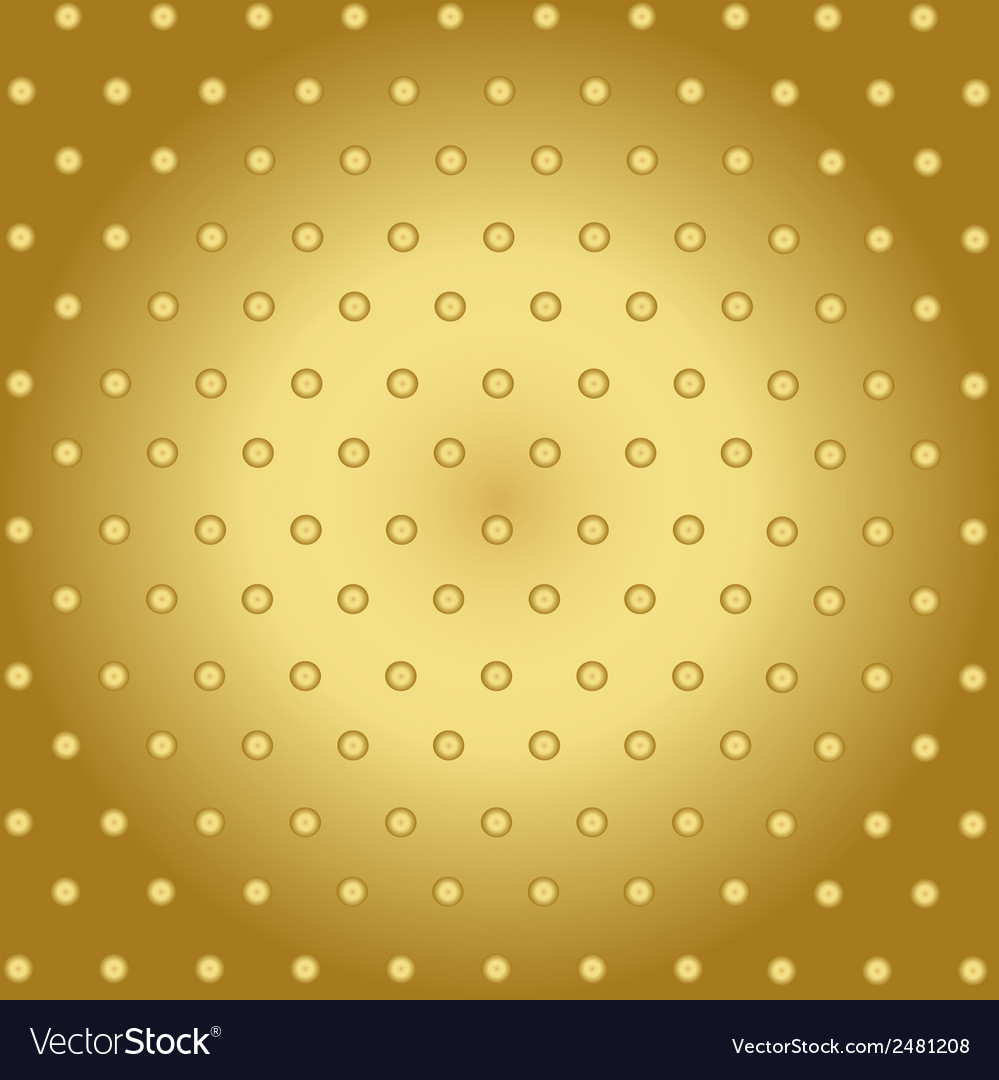 Abstract technology background with gold metal vector | Price: 1 Credit (USD $1)