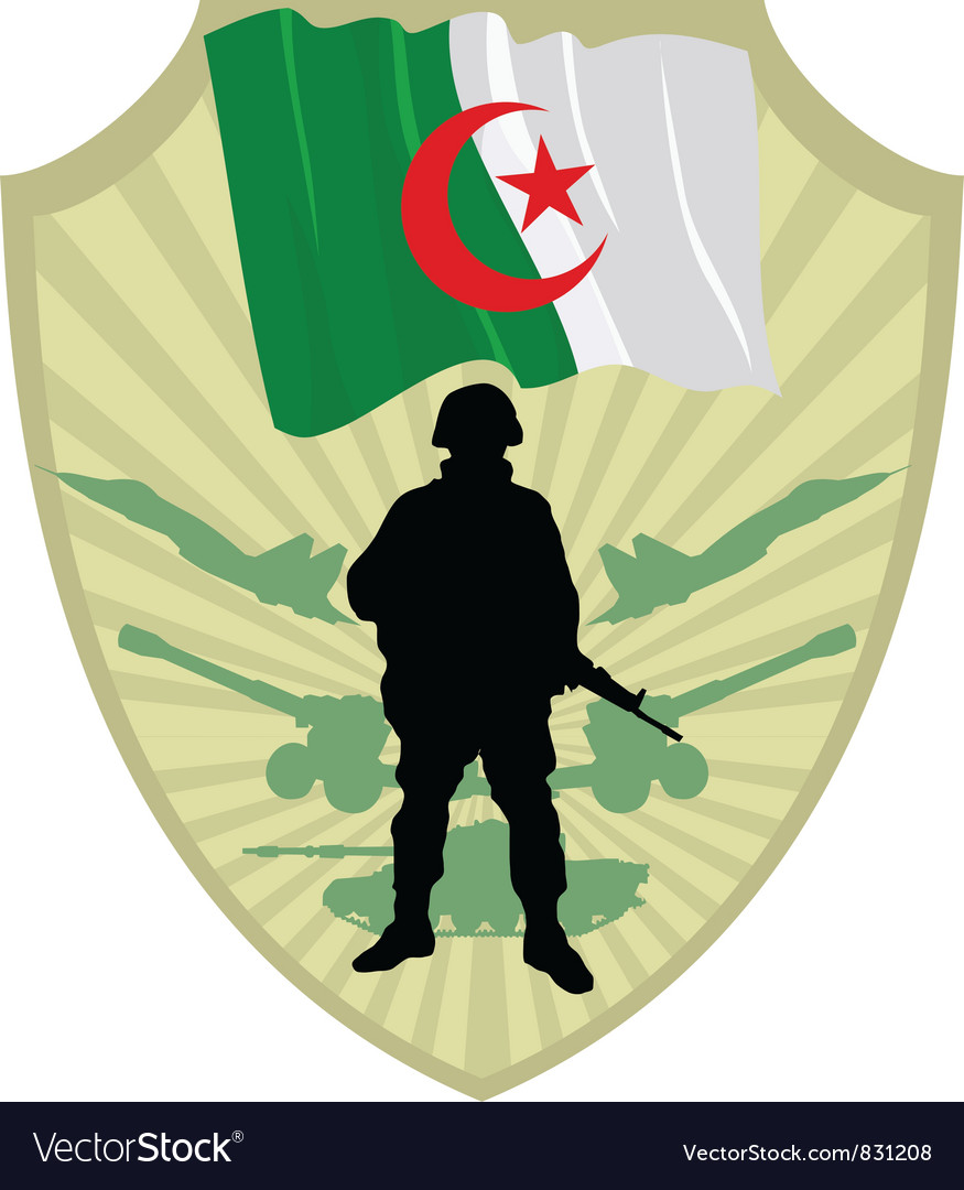 Army of algeria vector | Price: 1 Credit (USD $1)
