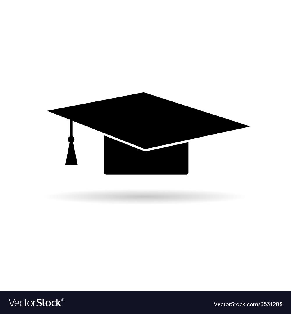 Cap for graduates vector | Price: 1 Credit (USD $1)