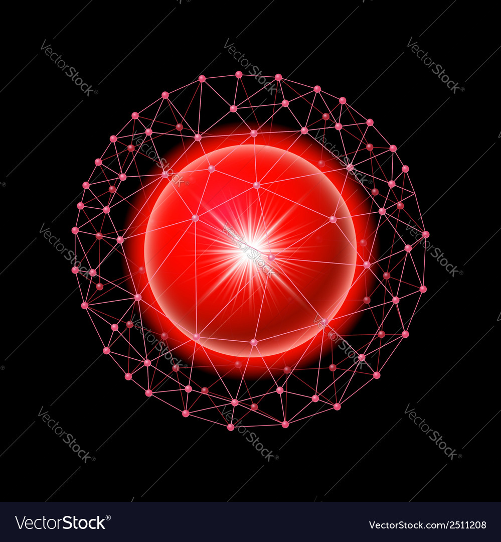 Sphere connected vector | Price: 1 Credit (USD $1)