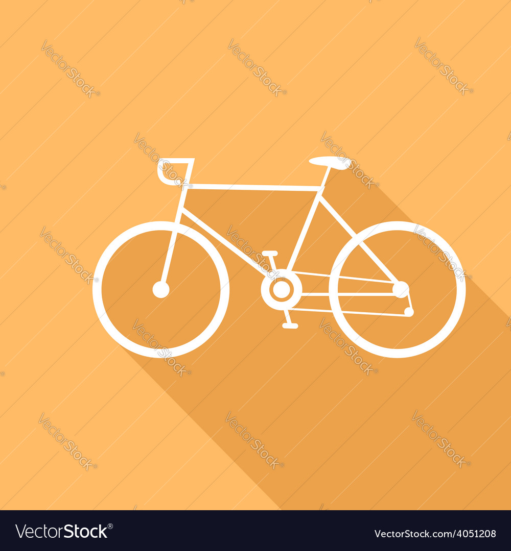 Sport bike of a flat design vector | Price: 1 Credit (USD $1)