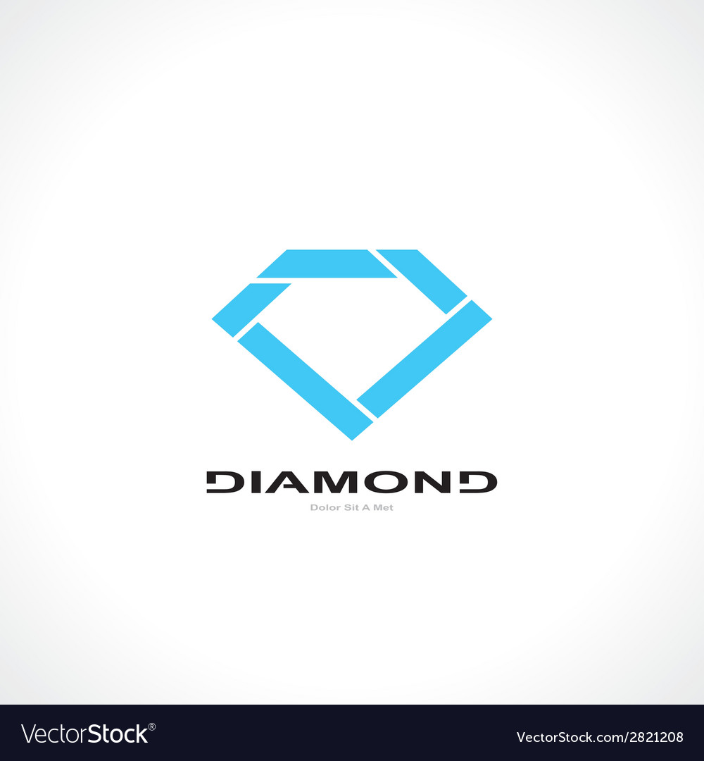 Symbol of diamond vector | Price: 1 Credit (USD $1)
