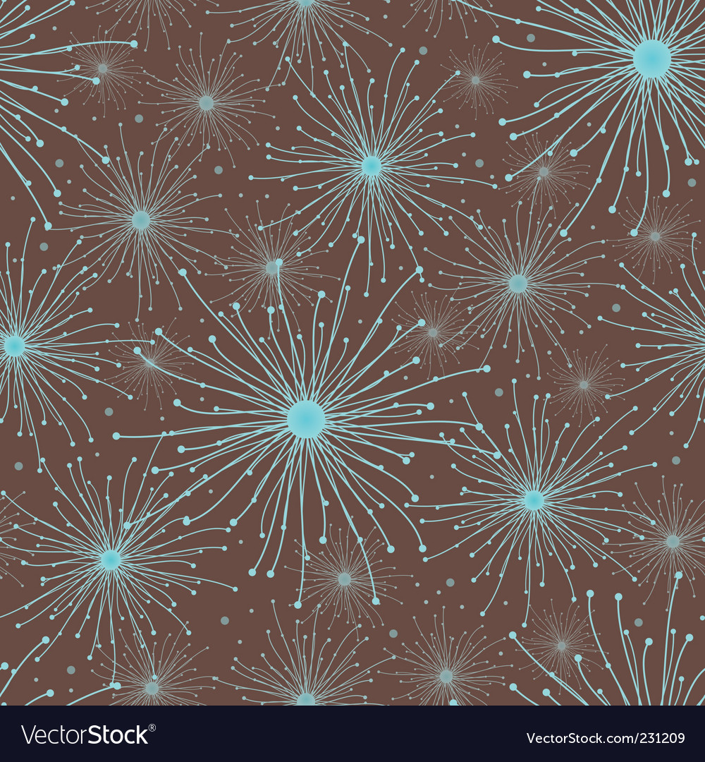 Abstract stars pattern vector | Price: 1 Credit (USD $1)