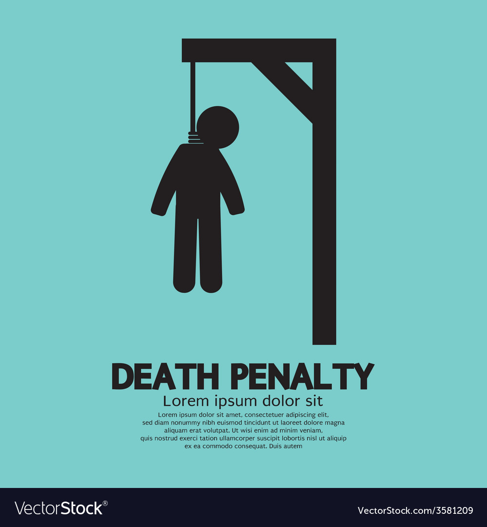 Death penalty symbol vector | Price: 1 Credit (USD $1)