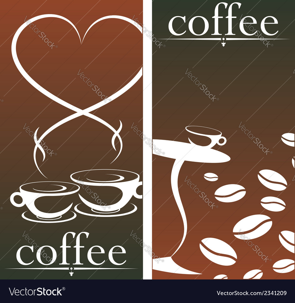 Design for coffee shop vector | Price: 1 Credit (USD $1)