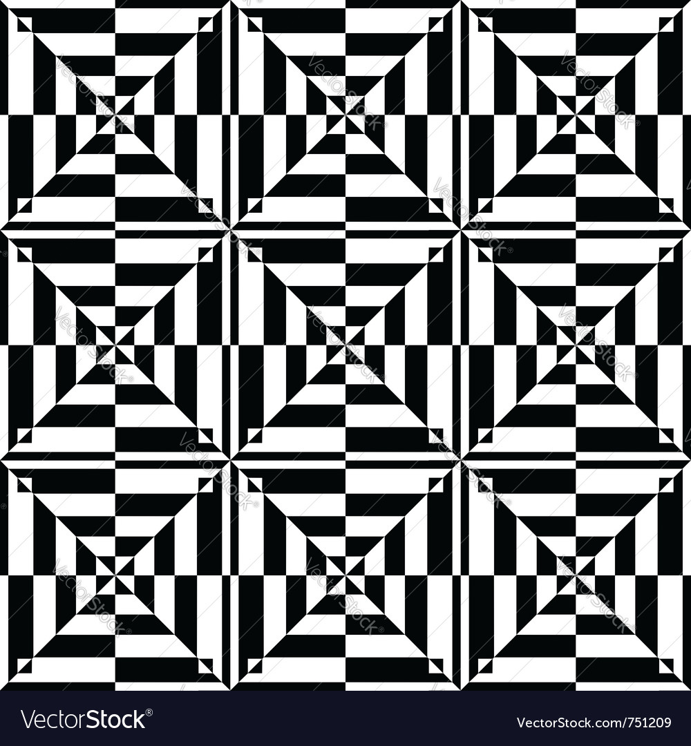 Op art seamless design vector | Price: 1 Credit (USD $1)