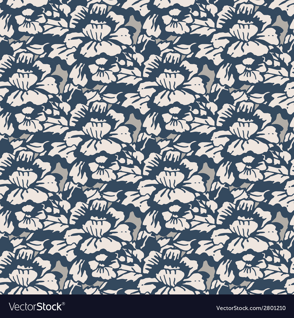 Flowers pattern vector   Price: 1 Credit (USD $1)
