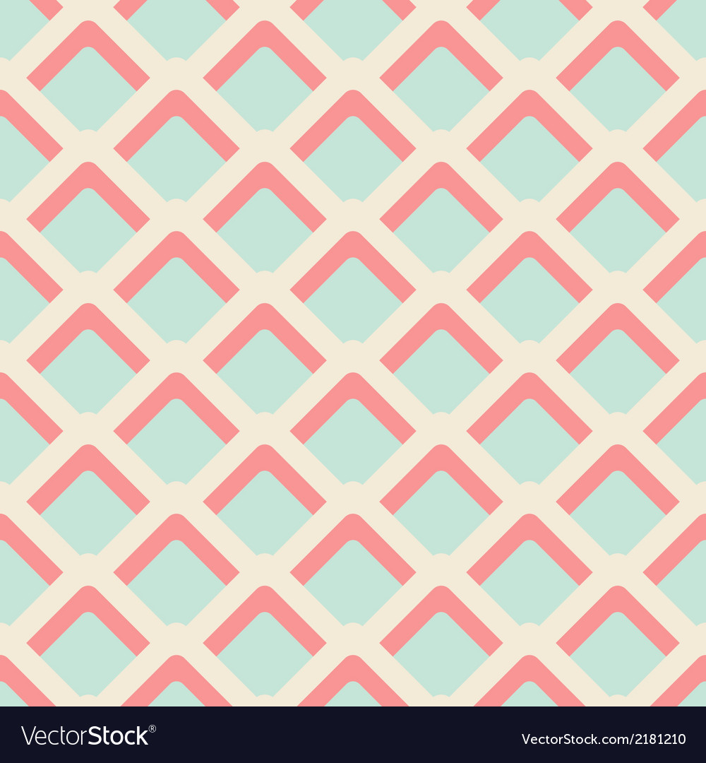 Geometric abstract elements seamless pattern vector | Price: 1 Credit (USD $1)