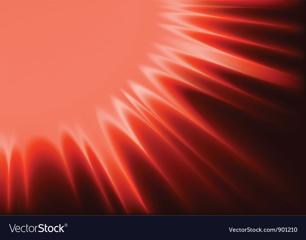 Red abstract sunshine vector | Price: 1 Credit (USD $1)