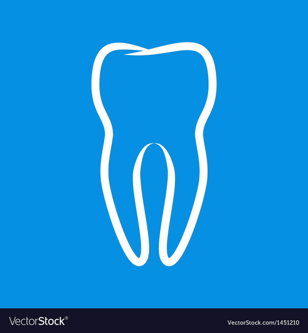 Sign of tooth vector | Price: 1 Credit (USD $1)