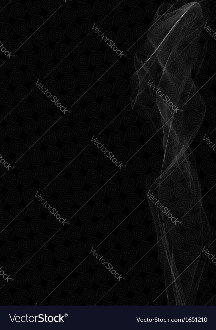 Smoke abstract background vector | Price: 1 Credit (USD $1)