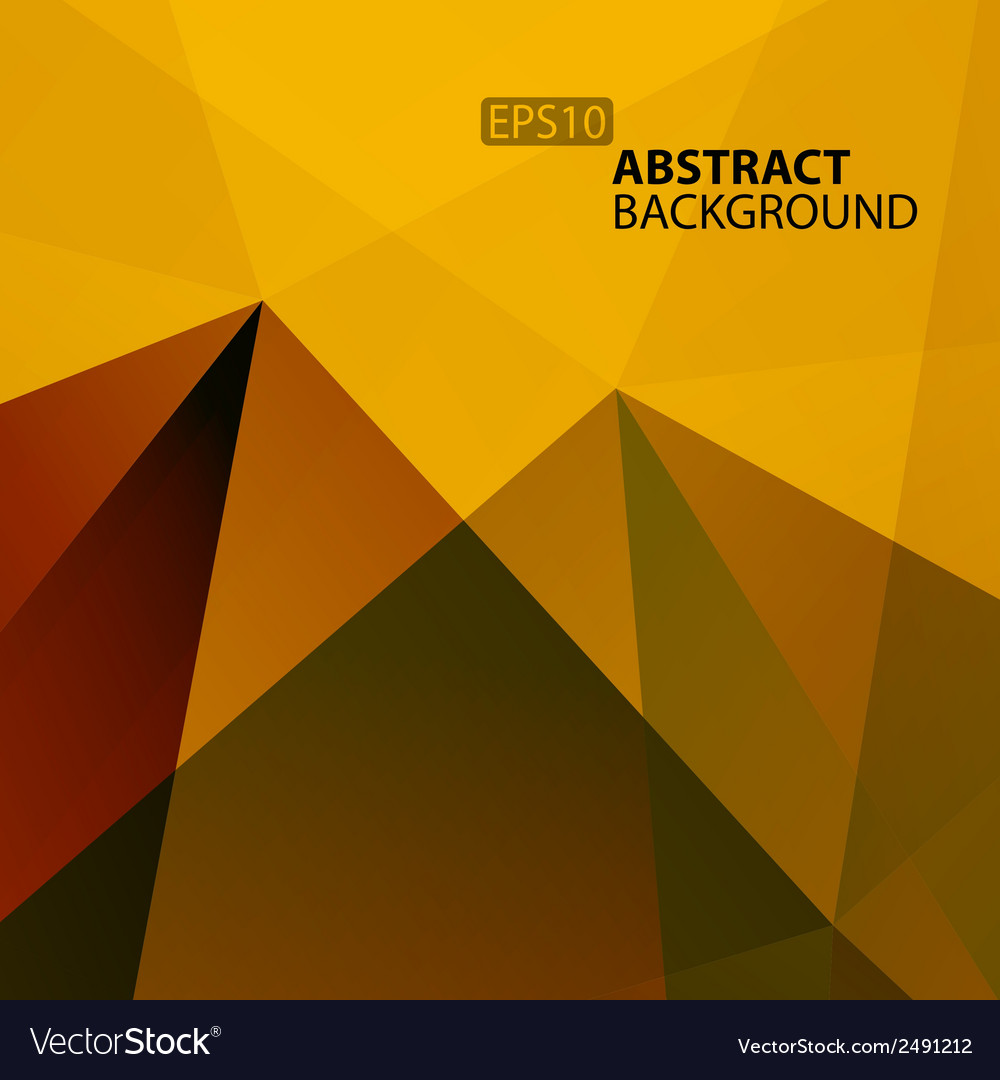 Abstract warm geometric background for your design vector | Price: 1 Credit (USD $1)