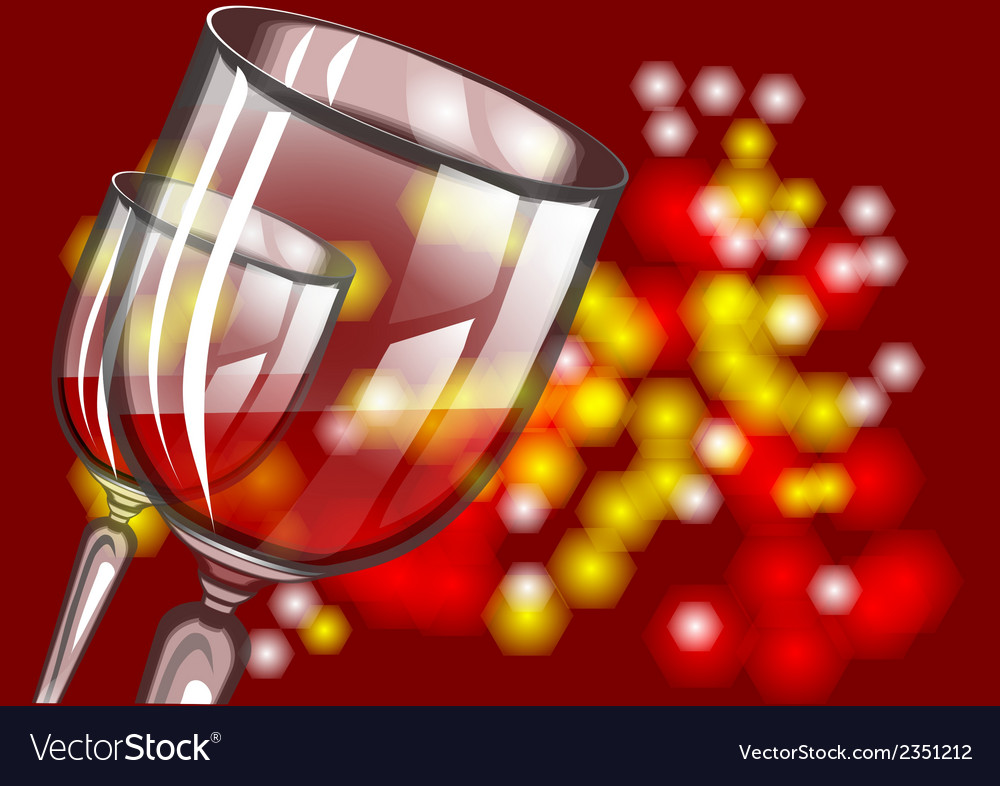 Christmas wine vector | Price: 1 Credit (USD $1)