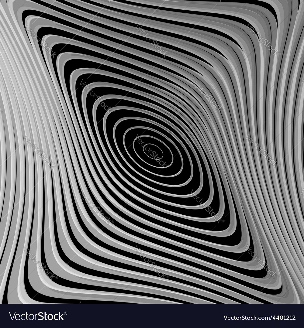Design monochrome whirl ellipse motion background vector | Price: 1 Credit (USD $1)
