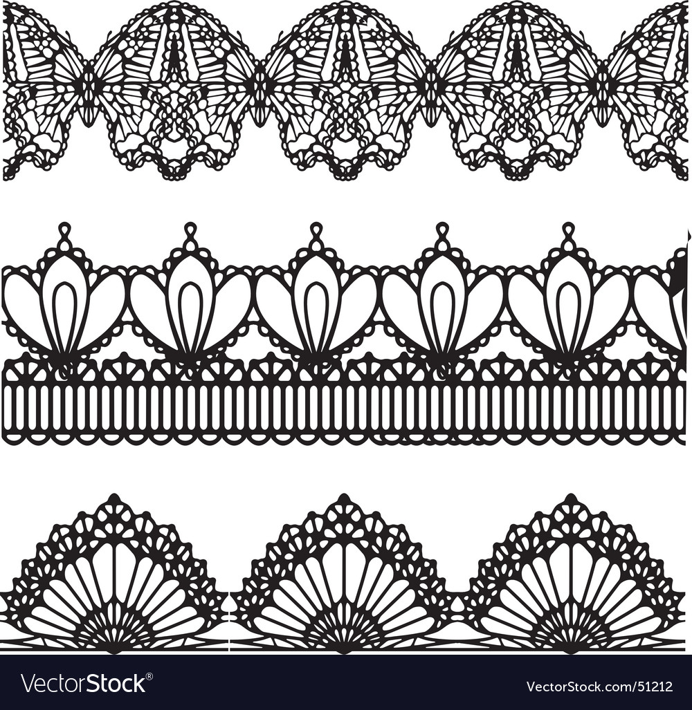 Lace design vector | Price: 1 Credit (USD $1)
