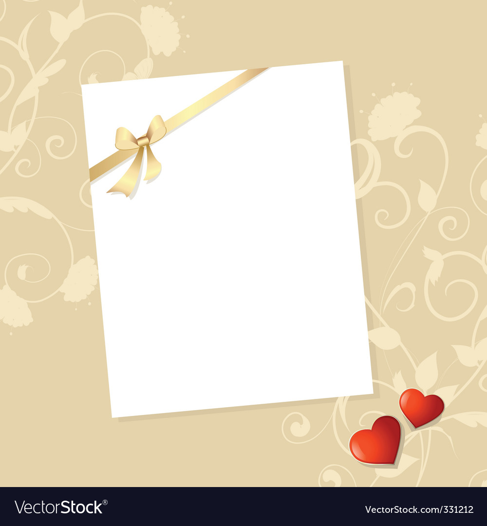 Letter valentine vector | Price: 1 Credit (USD $1)