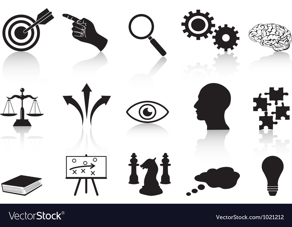 Strategy concepts icons set vector | Price: 1 Credit (USD $1)