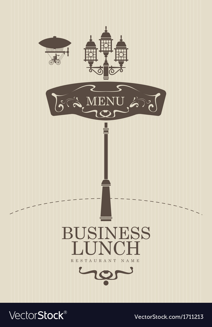 British lunch vector | Price: 1 Credit (USD $1)