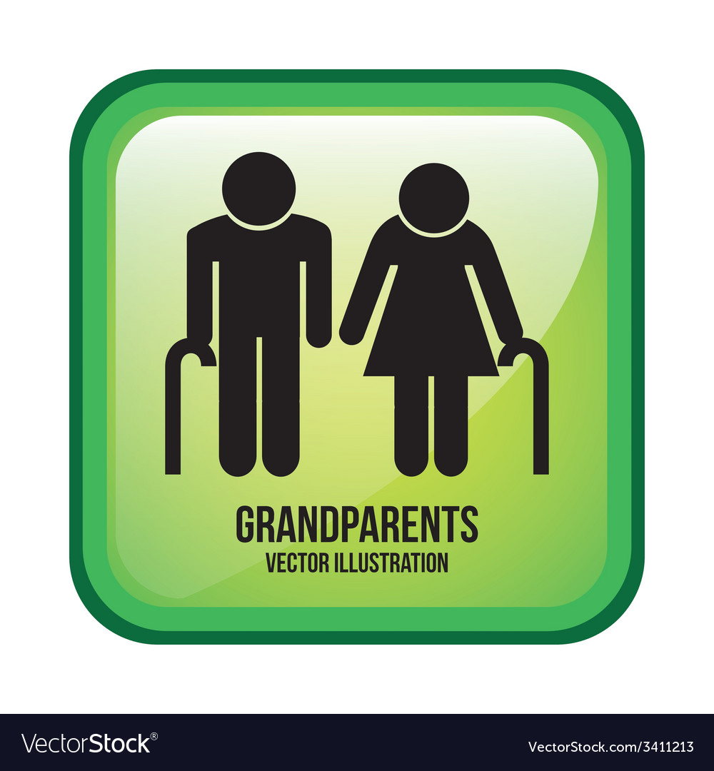Grandparents design vector | Price: 1 Credit (USD $1)