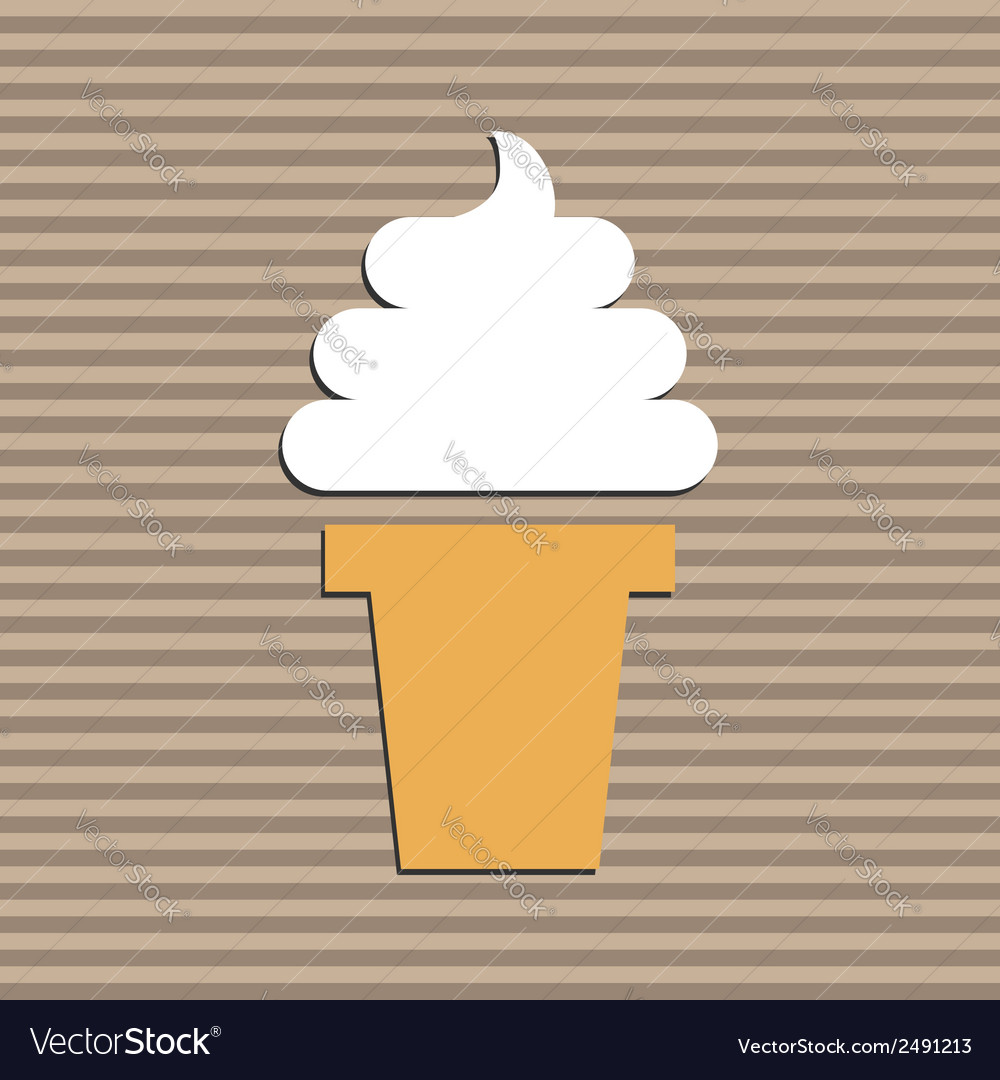 Ice-cream vector | Price: 1 Credit (USD $1)