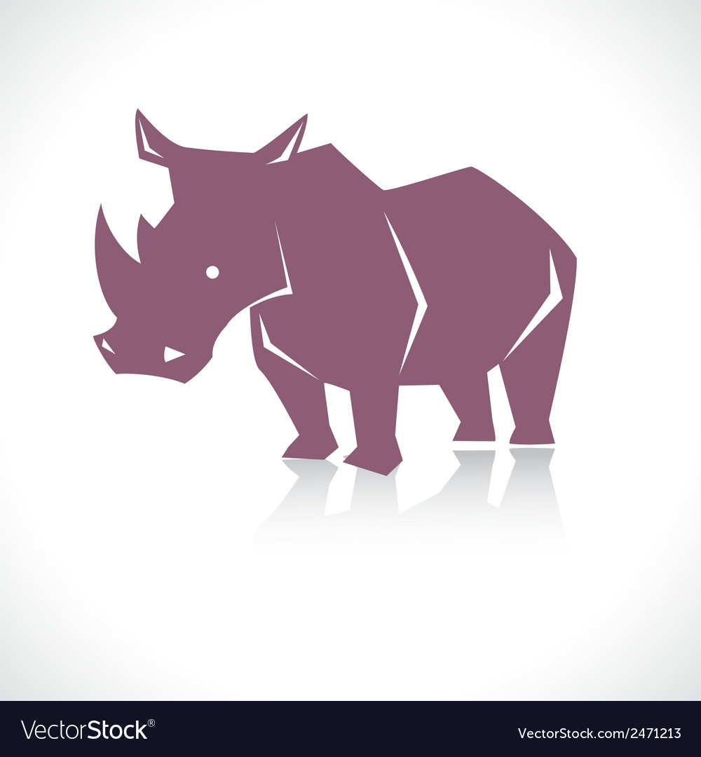 Rhino b vector | Price: 1 Credit (USD $1)
