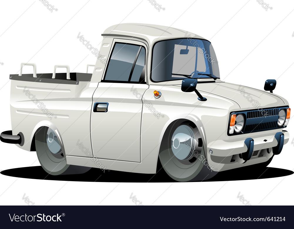 Cartoon delivery pickup vector | Price: 3 Credit (USD $3)