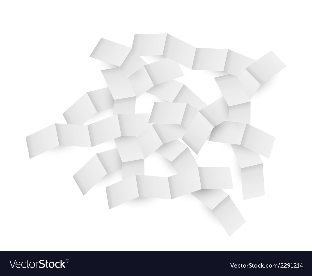 Folded paper vector | Price: 1 Credit (USD $1)
