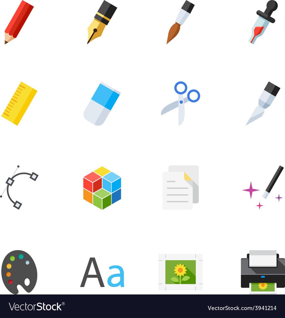 Graphic design icons vector | Price: 1 Credit (USD $1)