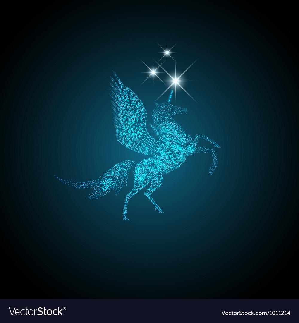 Pegasus vector | Price: 1 Credit (USD $1)