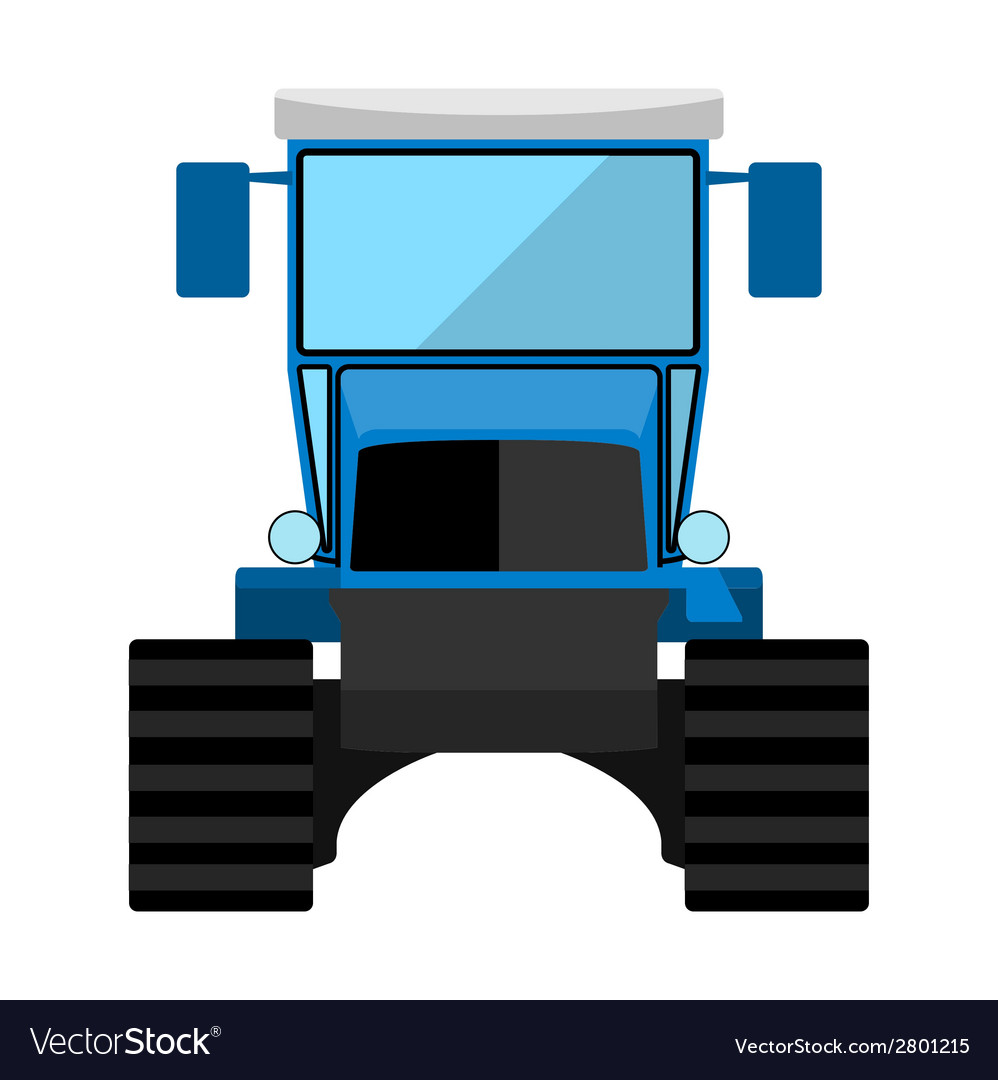 Caterpillar tractor vector | Price: 1 Credit (USD $1)