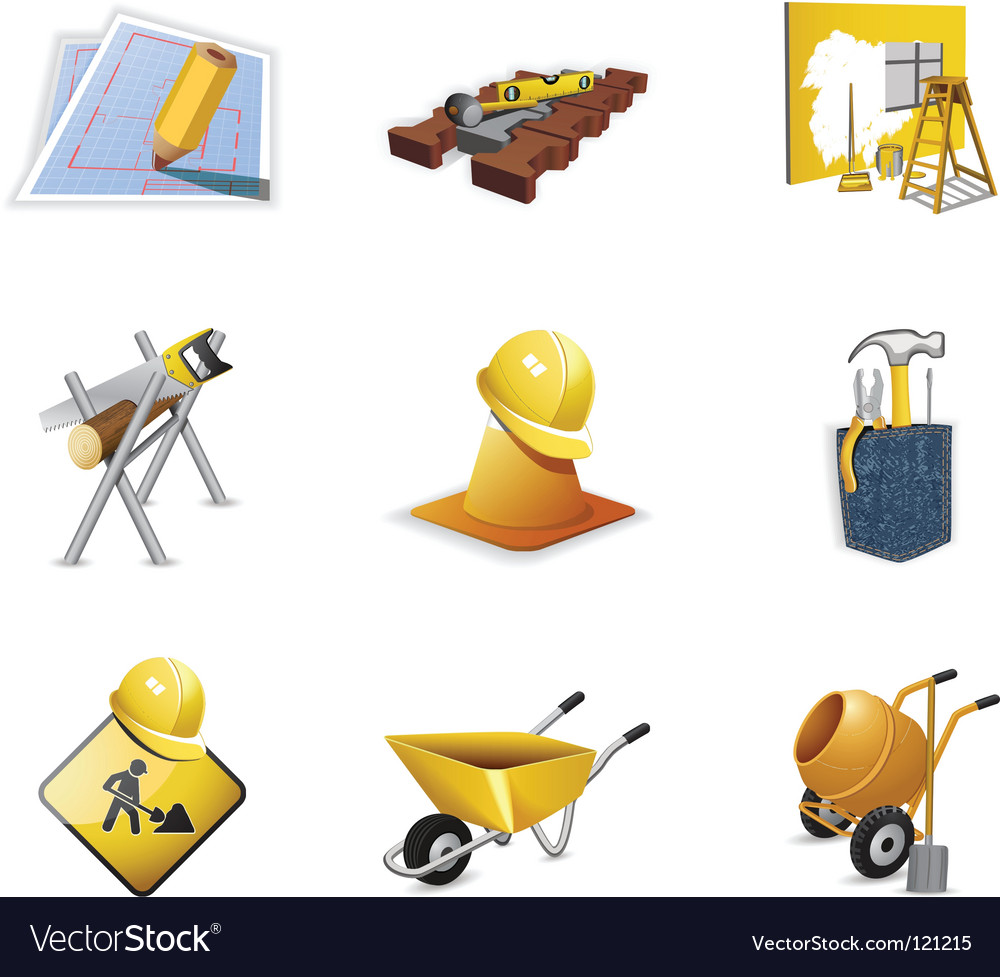 Construction tools vector | Price: 3 Credit (USD $3)