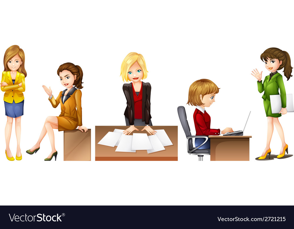 Office workers vector | Price: 3 Credit (USD $3)