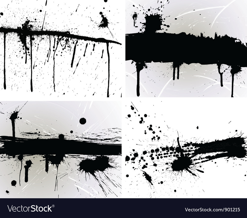 Splash set vector | Price: 1 Credit (USD $1)