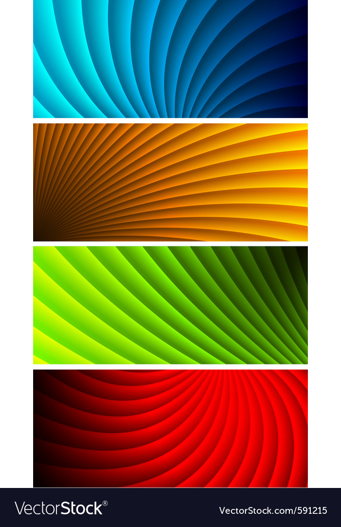 Vibrant banners vector | Price: 1 Credit (USD $1)
